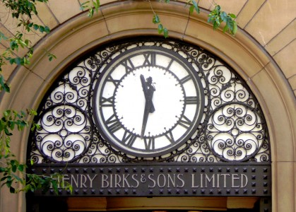 Henry Birks Clock Jigsaw Puzzle