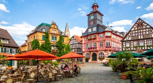 Heppenheim Marketplace Jigsaw Puzzle