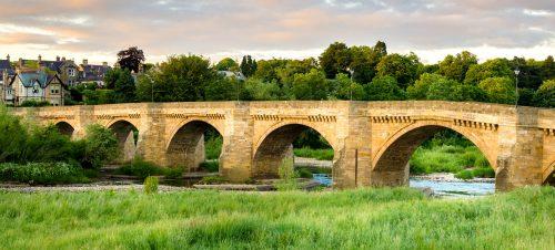 Hexham Old Bridge Jigsaw Puzzle