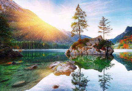 Hintersee Lake Jigsaw Puzzle
