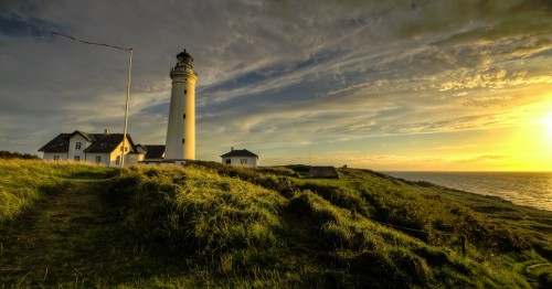 Hirtshals Lighthouse Jigsaw Puzzle