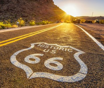 Historic Route 66 Jigsaw Puzzle