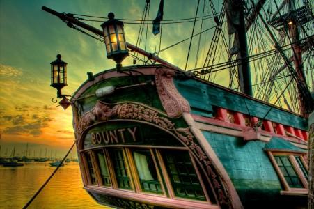HMS Bounty Jigsaw Puzzle
