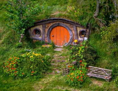 Hobbit Home Jigsaw Puzzle