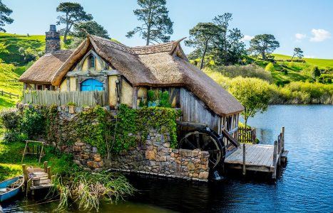 Hobbit Mill Jigsaw Puzzle