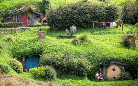 Hobbiton Homes Jigsaw Puzzle