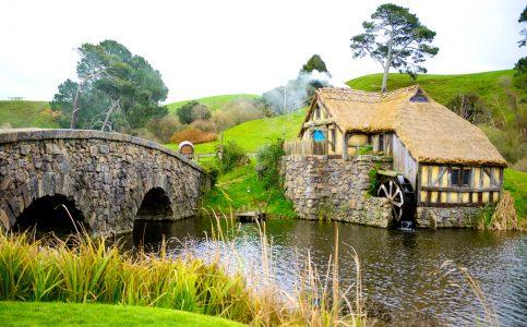Hobbiton Mill Jigsaw Puzzle