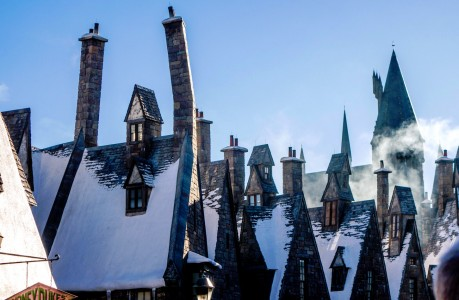 Hogsmeade Roofs Jigsaw Puzzle