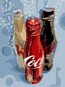 Holiday Coke Jigsaw Puzzle