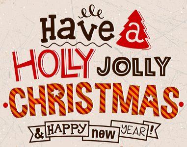 Holly Jolly Christmas Jigsaw Puzzle