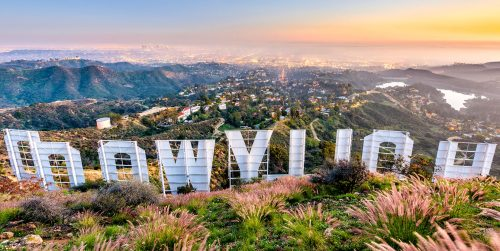 Hollywood Sign Jigsaw Puzzle