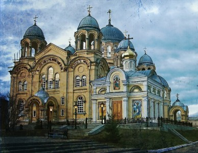 Holy Cross Cathedral Jigsaw Puzzle