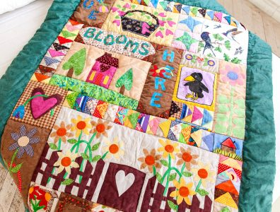 Home and Garden Quilt Jigsaw Puzzle