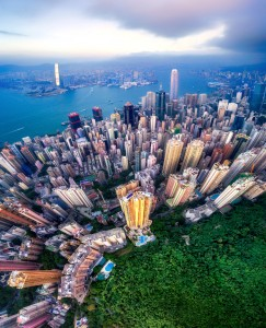 Hong Kong Aerial Jigsaw Puzzle