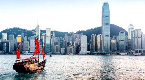 Hong Kong Skyline Jigsaw Puzzle