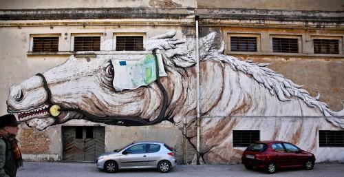 Horse Mural Jigsaw Puzzle