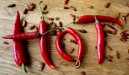 Hot Peppers Jigsaw Puzzle
