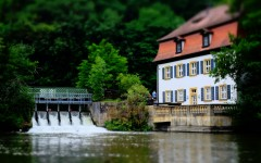 House by the Dam