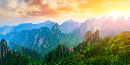 Huangshan Mountains Jigsaw Puzzle