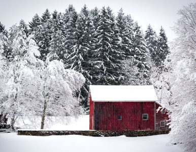 Hudson Valley Barn Jigsaw Puzzle