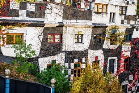 Hundertwasser House Jigsaw Puzzle