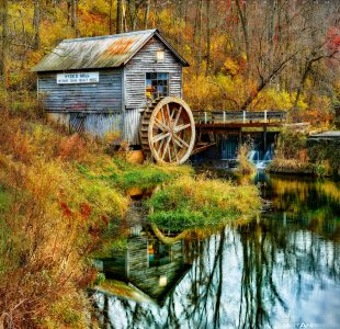 Hyde's Mill Jigsaw Puzzle