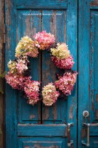 Hydrangea Wreath Jigsaw Puzzle