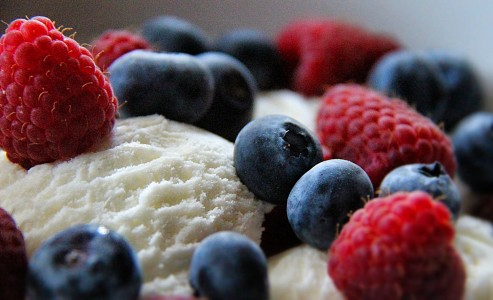 Ice Cream and Berries Jigsaw Puzzle