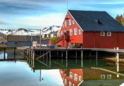 Iceland Fish House Jigsaw Puzzle