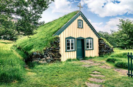 Icelandic Church Jigsaw Puzzle