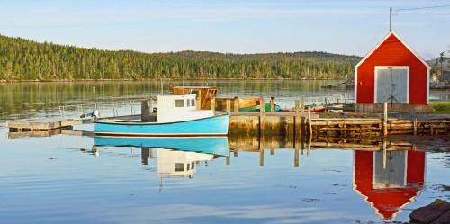 Idle Fishing Boat Jigsaw Puzzle