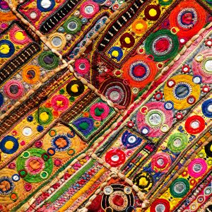 Indian Quilt Jigsaw Puzzle