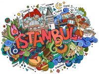 Istanbul Doodle