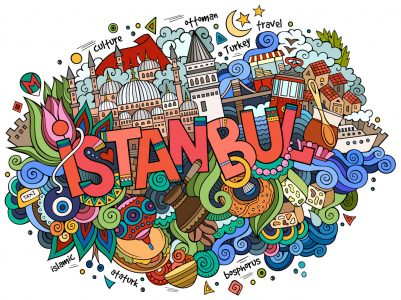 Istanbul Doodle Jigsaw Puzzle