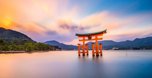 Itsukushima Sunset Jigsaw Puzzle