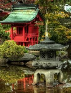 Japanese Garden Jigsaw Puzzle