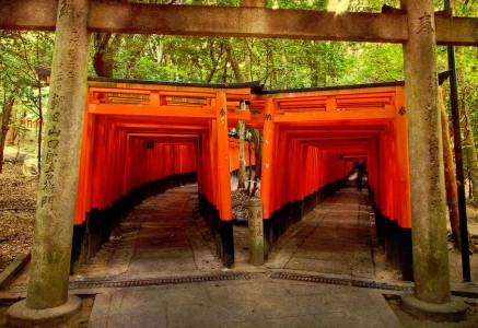 Japanese Shrine Jigsaw Puzzle