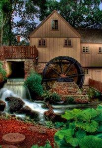 Jenney Grist Mill Jigsaw Puzzle