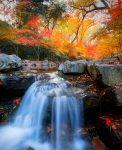Jiuxi Waterfall