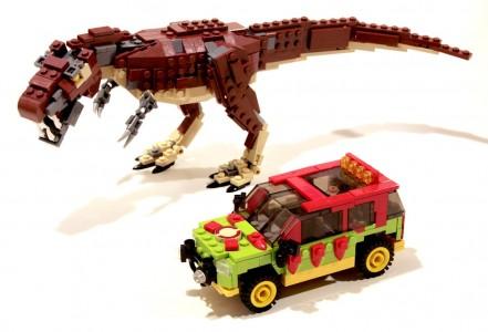 Jurassic Legos Jigsaw Puzzle