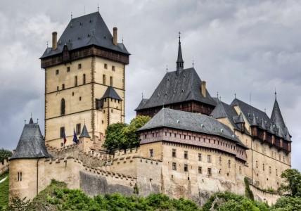 Karlstejn Castle Jigsaw Puzzle