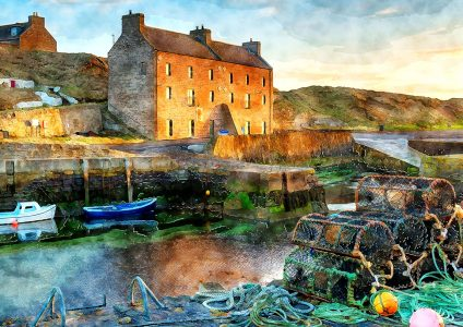 Keiss Harbor Jigsaw Puzzle