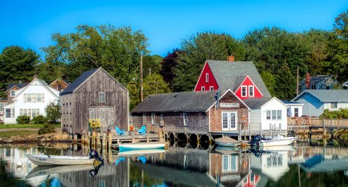 Kennebunkport Docks Jigsaw Puzzle