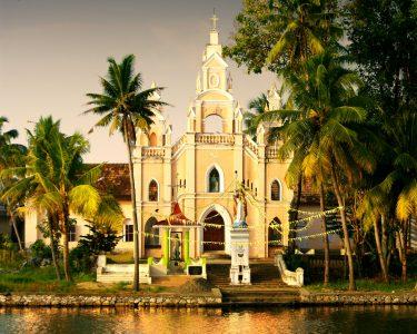 Kerala Church Jigsaw Puzzle
