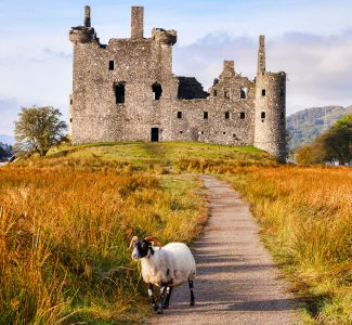 Kilchurn Castle Jigsaw Puzzle