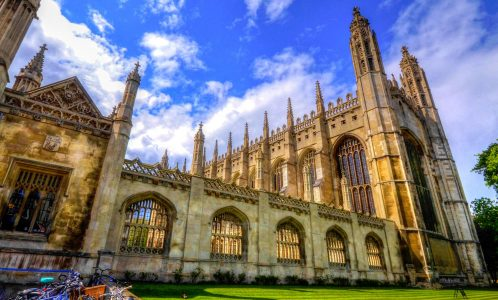 King's College Chapel Jigsaw Puzzle