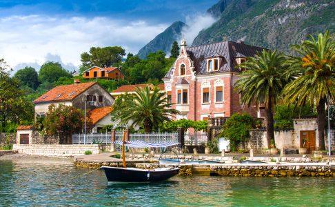 Kotor Waterfront Jigsaw Puzzle