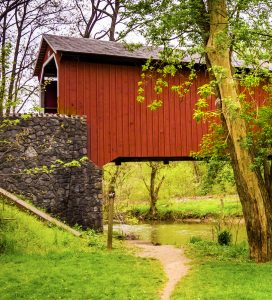 Kurtz's Mill Bridge Jigsaw Puzzle