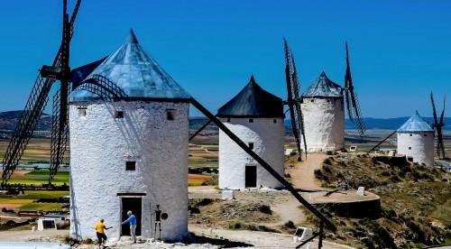 La Mancha Windmills Jigsaw Puzzle