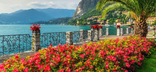 Lake Como Promenade Jigsaw Puzzle